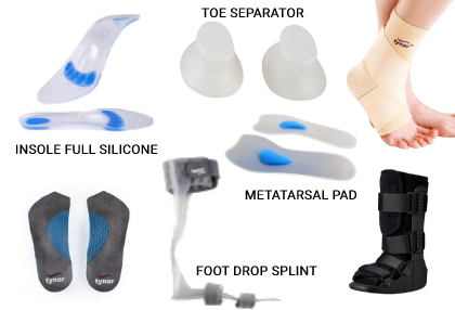 Silicone & Foot Care Products